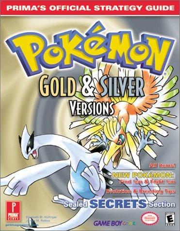 Pokemon Gold and Silver: Prima's Official Strategy Guide