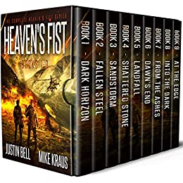 Heaven's Fist Box Set: The Complete Heaven's Fist Series - Books 1-9 by [Justin Bell, Mike Kraus]