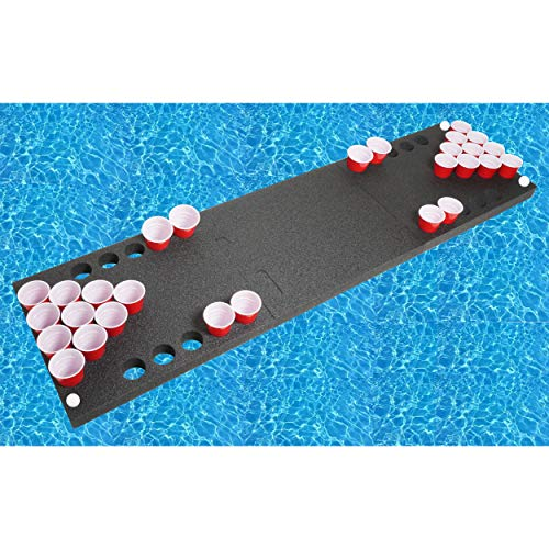 "Case Club Floating Beer Pong (2"" Thick Heavy Duty Foam)"