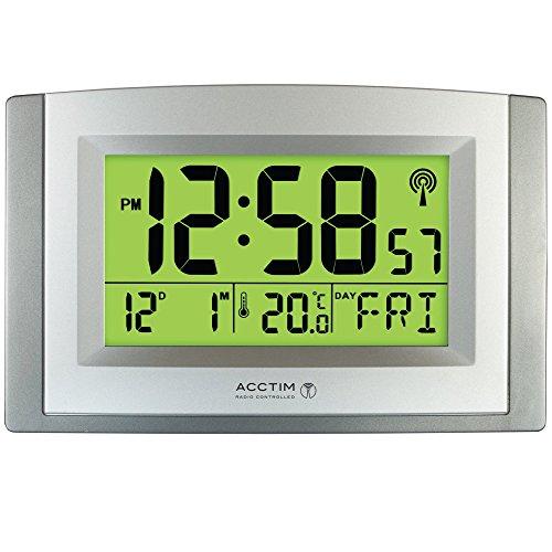 Acctim Stratus Smartlite - Reloj de pared o escritorio