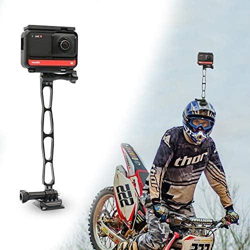 SUREWO Aluminum Extension Arm Metal Pole Bike Mount Extension Helmet Stick Mount Compatible product image