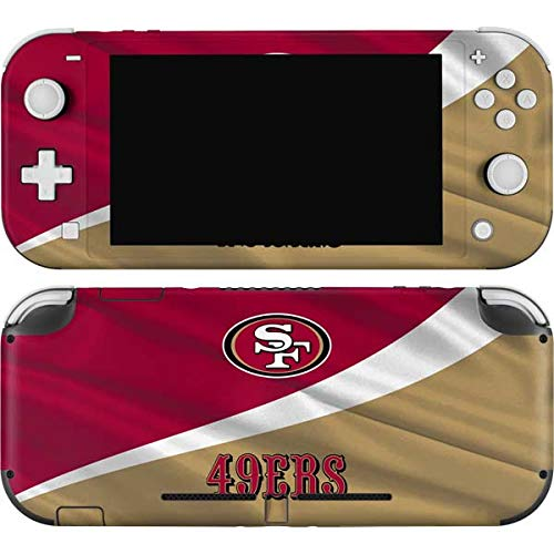 Skinit Decal Gaming Skin Compatible with Nintendo Switch Lite - Officially Licensed NFL San Francisco 49ers Design