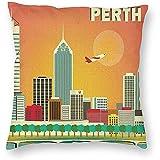 Bella-shop Style Perth Australien Skyline World Art Poster