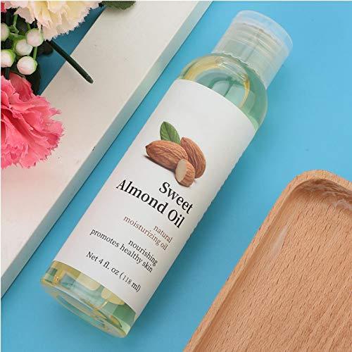 Aceite Esencial Aceite de Almendras Dulces Hidratante para Rostro para Belleza para Masaje Aceites para Masaje de Pies