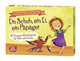Ein Schuh, ein Ei, ein Papagei: 30 Gruppen-Klatschspiele für Kita und Schule (Spielen - Lernen Freude haben. 30 tolle Ideen für Kindergruppenauf DIN A5-Karten) - Elke Gulden