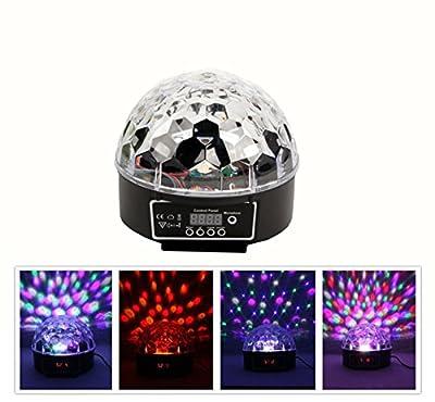 VStoy Super Beautiful LED RGB Crystal Magic Effect Ball light DMX Disco DJ Stage Lighting Play