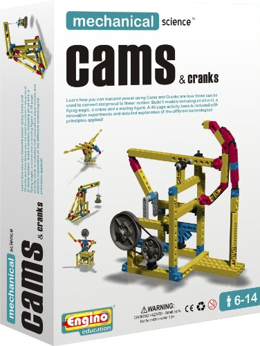 Engino Mechanical Science: Cams & Cranks...