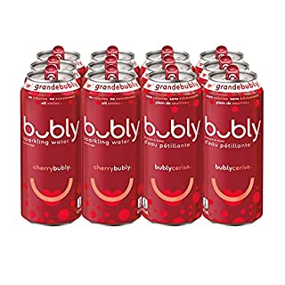 bubly Sparkling Water cherrybubly, 473 mL Cans, 12 Pack (B089363PF4) | Amazon price tracker / tracking, Amazon price history charts, Amazon price watches, Amazon price drop alerts