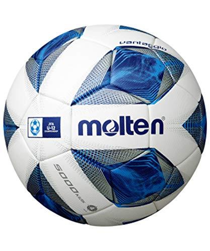 molten(モルテン) サッカーボール 小学生用 4号球 検定球 ヴァンタッジオ5000キッズホワイト×ブルー F4A5000