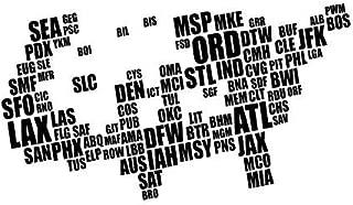 airport maps usa