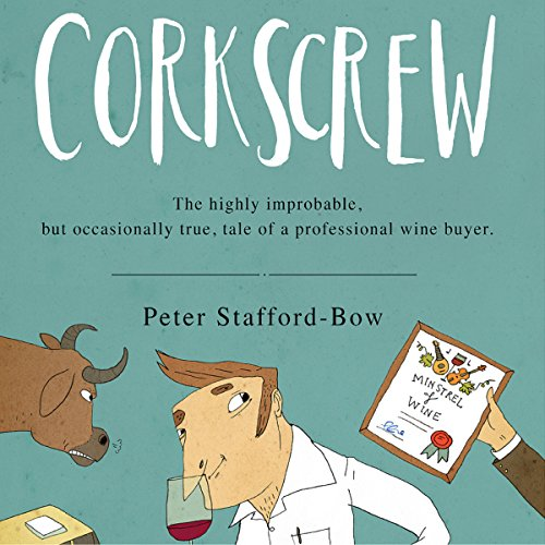 Corkscrew audiobook cover art