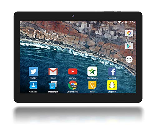 Google Certified 10 Inch Android 10 OS Tablet by Azpen IPS 1280 x 800 HD Display 2GB RAM 32GB Storage Dual Camera Quad Core Bluetooth GPS
