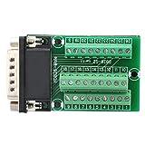 DB26 DB26-G2-01 Adaptador a la PCB Señales de Terminales Módulo Placa de desconexión Co...