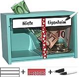 jaggson Spardose Haus : Für Hausbau, Einzug, Einzug, Umzug, Garten, Haushalt UVM.