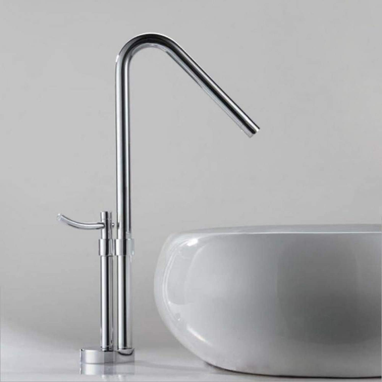 redOOY Brass above counter basin basin hot and cold faucet modern high-end redating kitchen faucet
