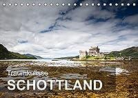 Traumkulisse Schottland (Tischkalender 2022 DIN A5 quer): Vorhang auf fuer eine gruene Traumkulisse (Monatskalender, 14 Seiten )