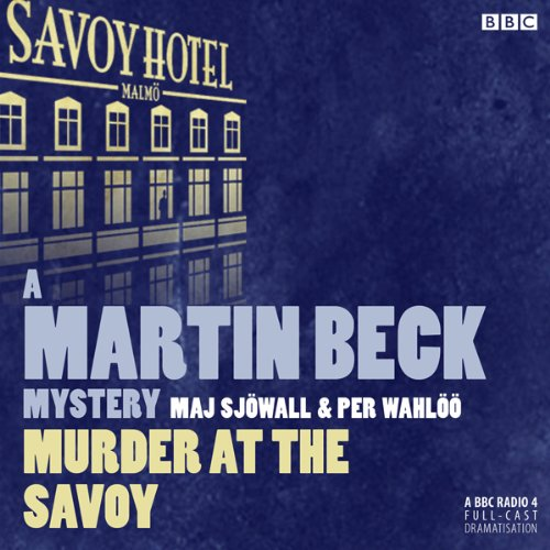 Murder at the Savoy audiobook cover art