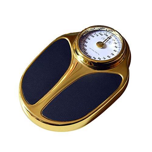 Báscula mecánica Profesional de Personal Scales, Escala Grande, Escala exacta de la Salud Humana, pérdida de Peso, Escala de Hotel, Peso medido 200 kg CE/UCL/BQB/RoHS Certified