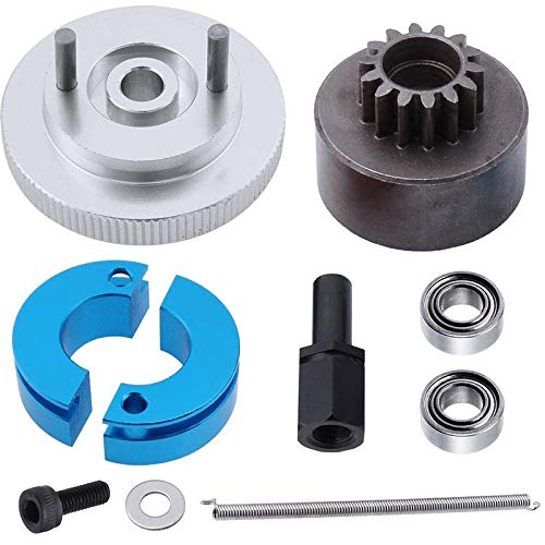 Haudang RC 14T Clutch Bell + Shoes with Spring +Flywheel Assembly Kit Set for Redcat S30 SH-18 VX-18 Nitro Engine Parts