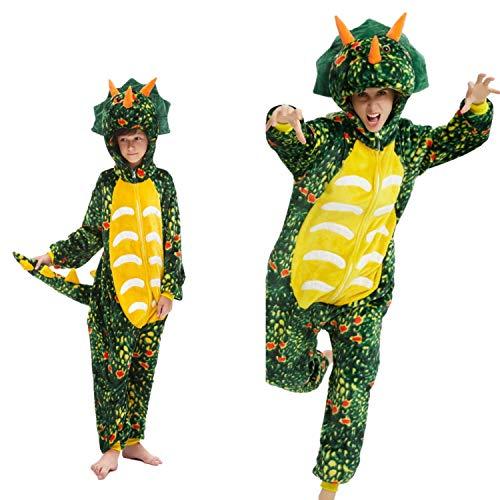 Pyjama Kigurumi Tier Kostüm für Karneval, Halloween, Party, Cosplay Anzug Erwachsene und Kinder, unicorno, unicorno X-Large