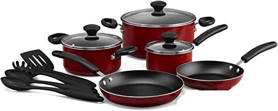 Prestige Prestige 12 Pc Cookware Set, Red, 24 cm