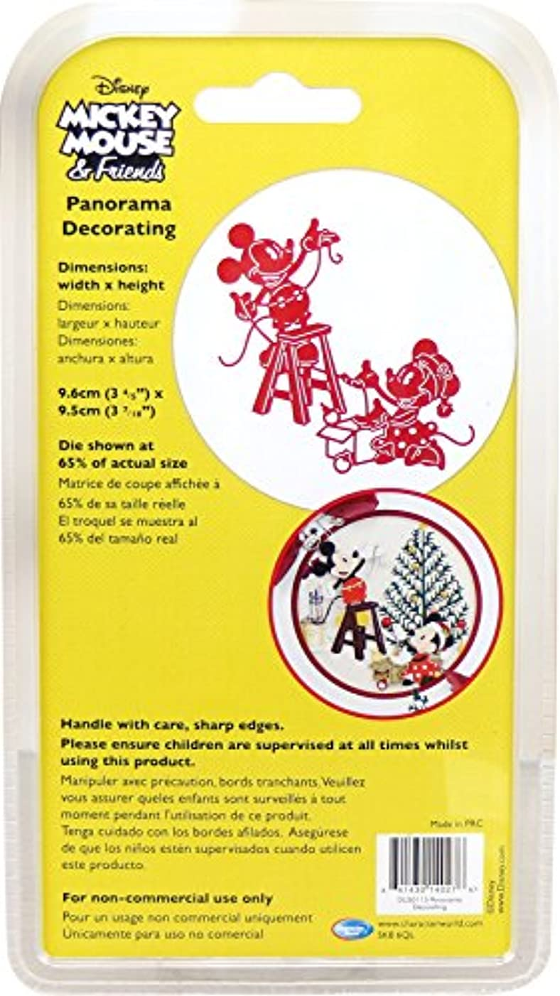 Character World Limited DUS0115 Panorama Decorating Die Set, Silver