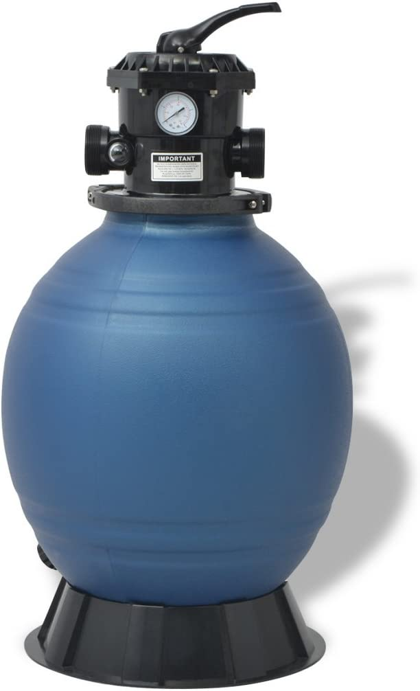 Festnight 2377 GPH latest Sale special price Pool Sand Filter B Positions 6 18-inch with
