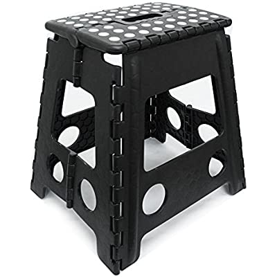 Astonishing Cheap Tekbox Folding Step Stool Multi Purpose Plastic Theyellowbook Wood Chair Design Ideas Theyellowbookinfo