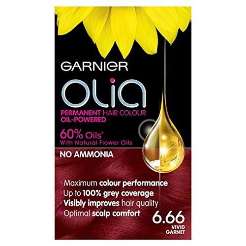 Garnier Olia Haarfarbe 6.66 Vivid Granat