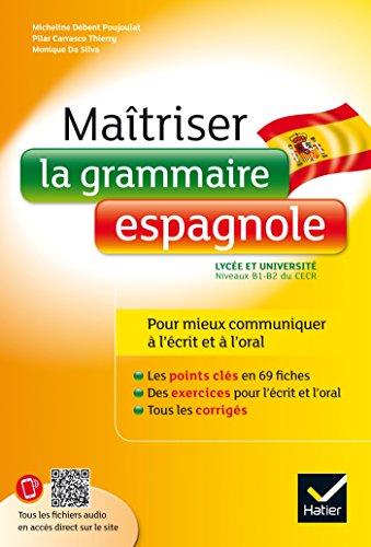 Maîtriser la grammaire espagnole à l'écrit et à l'oral