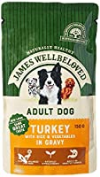 Hypo-allergenic No unhealthy additives Full of natural goodness Nourishing turkey with rice and vegetables in a delicious tasty gravy Gentle on your dog's digestion