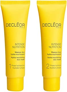 Decleor Intense Nutrition Hydra-Nourishing Duo Mask for Women (Pack of 2)