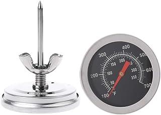 BIlinli Indicatore di Temperatura della griglia del Fumatore del BBQ del termometro del Forno dell'Acciaio Inossidabile 50...