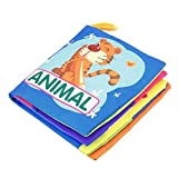 sahnah Portable Early Educational Cloth Book Colorful Soft Toys Pecfect For Babies