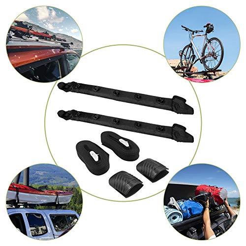 N/H 119cm Dachträger Dachgepäckträger, Universal aufblasbarer Dachgepäckträger Auto Dachträger aufblasbar für Autodach Dach Gepäckträger Passt für die meisten Autos Autodachträger in Schwarz