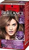 Brillance Intensiv-Color-Creme 702 Kühler Amethyst Jewel Collection, 3er Pack (3 x 143 ml)