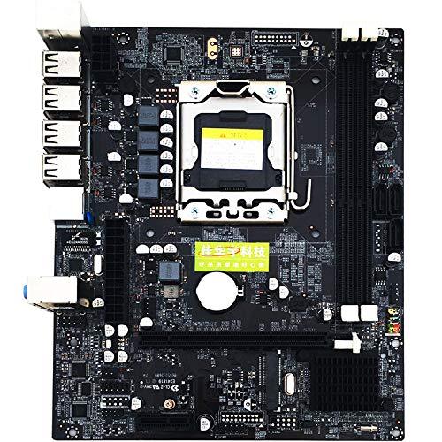 BEESCLOVER X79 Moederbord LGA1156 SATA2 DDR3 E5-2430CPU Moederbord X79