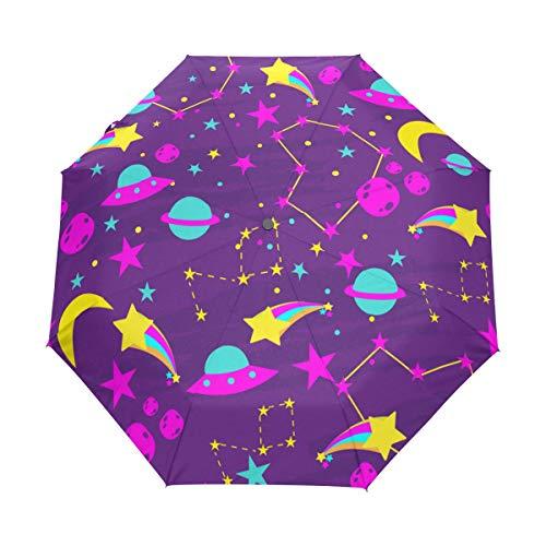 SUHETI Paraguas automático de Apertura/Cierre