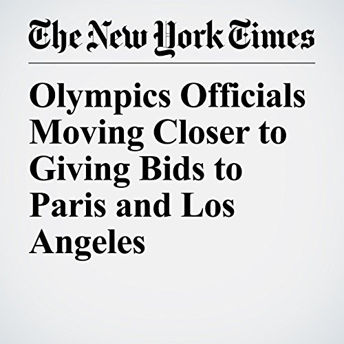 Olympics Officials Moving Closer to Giving Bids to Paris and Los Angeles audiobook cover art