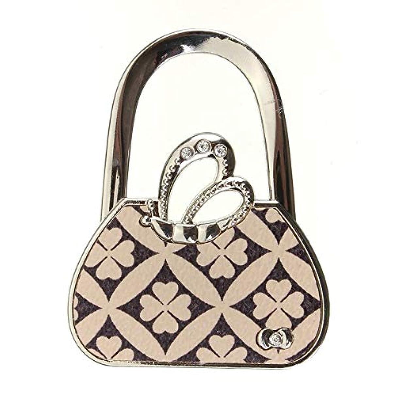 VU ANH TUAN Store Hooks & Rails New Bag Shape Design Folding Handbag Purse Bag Cloth Hanger Durable Table Hook Racks