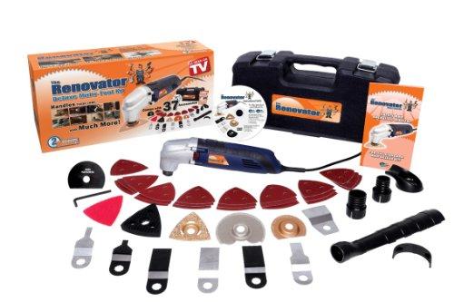 Rénovator RENOVATOR11 Multifunktionswerkzeug mit 37 Zubehörteilen, 250 W