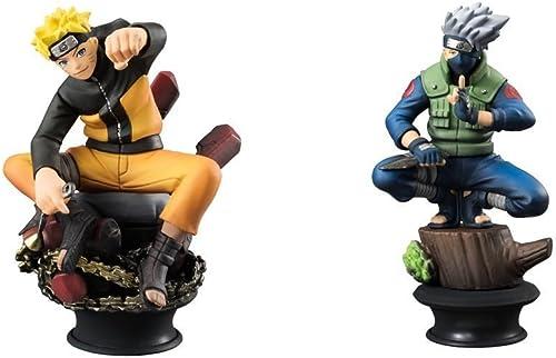 Venta en línea de descuento de fábrica Naruto Shippuden Naruto & Kakashi LE LE LE Chess Piece Collection R Trading Figuras  Compra calidad 100% autentica