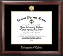 Campus Images OH985GED University of Toledo Embossed Diploma Frame, 8