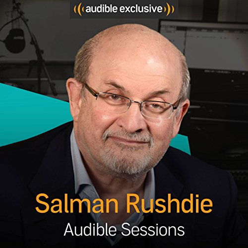 Salman Rushdie audiobook cover art