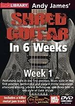 (6 DVD Set) - Andy James Shred Guitar in 6 Weeks: Weeks 1-6