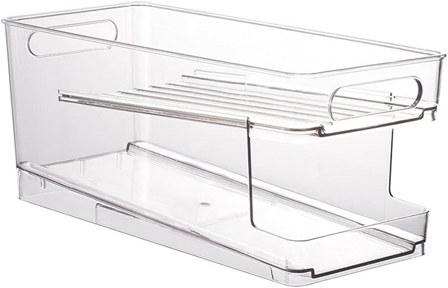 KANGneei Standing Kitchen National uniform free shipping Cans Dispenser f Bin Organizer List price Storage