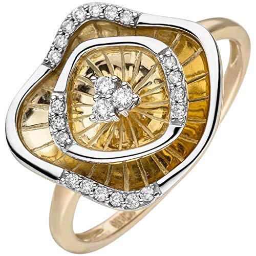 Schmuck Krone 585 oro amarillo 14 quilates (585) Diamond