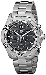 TAG Heuer Men's CAF101E.BA0821 Aquaracer Black Dial Watch image