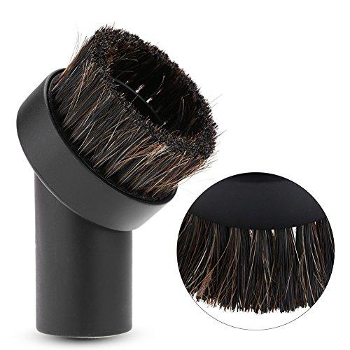 Escova, escova de crina de cavalo, peças de acessórios para aspirador de pó, peças de acessórios para pó de piso, cabeça de escova de 32 mm