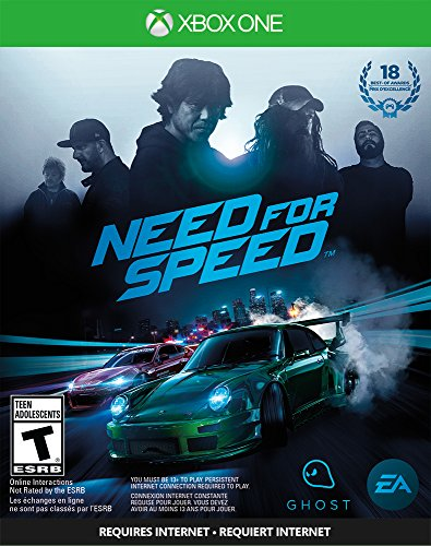 Electronic Arts Need For Speed Xbox One - Juego (Xbox One, Racing, Ghost Games, T (Teen), ENG, ENG, Básico)